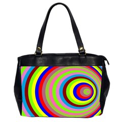 Color Oversize Office Handbag (Two Sides)