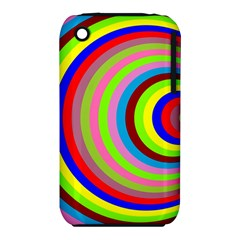 Color Apple iPhone 3G/3GS Hardshell Case (PC+Silicone)