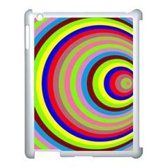 Color Apple Ipad 3/4 Case (white)
