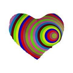 Color 16  Premium Heart Shape Cushion