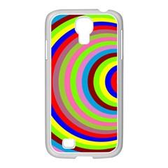 Color Samsung GALAXY S4 I9500/ I9505 Case (White)