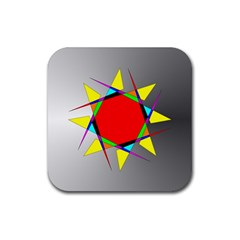 Star Drink Coasters 4 Pack (square)