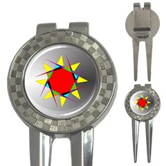 Star Golf Pitchfork & Ball Marker