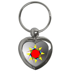 Star Key Chain (Heart)
