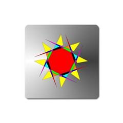 Star Magnet (square)