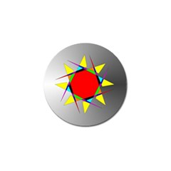 Star Golf Ball Marker 4 Pack