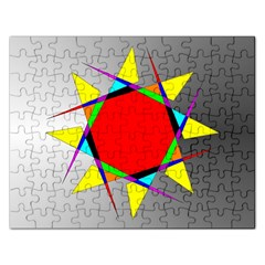 Star Jigsaw Puzzle (Rectangle)