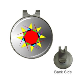 Star Hat Clip with Golf Ball Marker