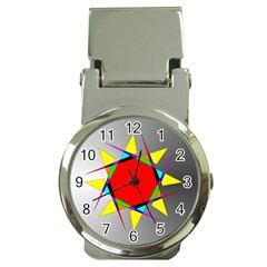 Star Money Clip With Watch