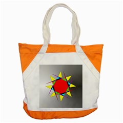 Star Accent Tote Bag