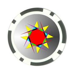 Star Poker Chip (10 Pack)