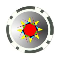 Star Poker Chip (10 Pack)
