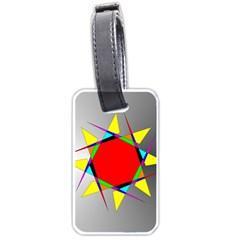 Star Luggage Tag (One Side)
