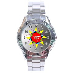 Star Stainless Steel Watch