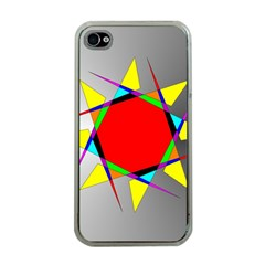 Star Apple Iphone 4 Case (clear)