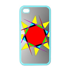 Star Apple Iphone 4 Case (color)