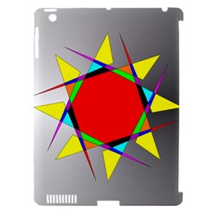 Star Apple iPad 3/4 Hardshell Case (Compatible with Smart Cover)