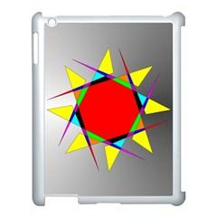 Star Apple iPad 3/4 Case (White)