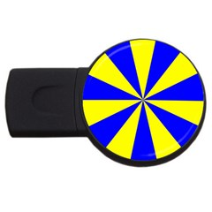 Pattern 2GB USB Flash Drive (Round)