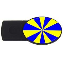 Pattern 2gb Usb Flash Drive (oval)