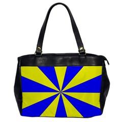 Pattern Oversize Office Handbag (One Side)