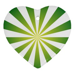 Pattern Heart Ornament