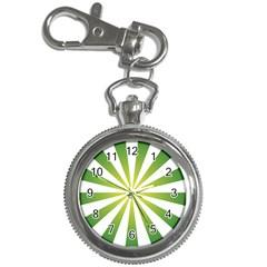 Pattern Key Chain Watch