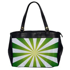 Pattern Oversize Office Handbag (one Side)