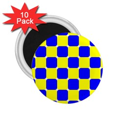 Pattern 2.25  Button Magnet (10 pack)