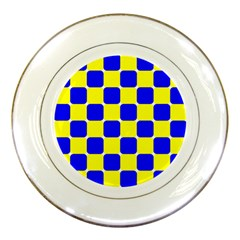 Pattern Porcelain Display Plate
