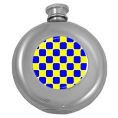 Pattern Hip Flask (Round)