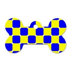 Pattern Dog Tag Bone (One Sided)