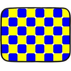Pattern Mini Fleece Blanket (Two Sided)