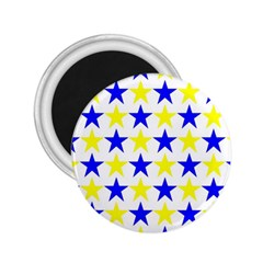 Star 2.25  Button Magnet