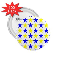 Star 2.25  Button (100 pack)