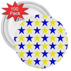 Star 3  Button (100 pack)