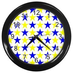 Star Wall Clock (Black)