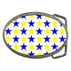 Star Belt Buckle (Oval)