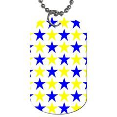 Star Dog Tag (one Sided)