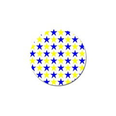 Star Golf Ball Marker 10 Pack