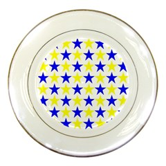 Star Porcelain Display Plate