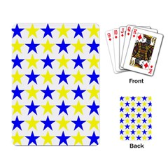 Star Playing Cards Single Design