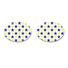 Star Cufflinks (oval)