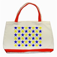 Star Classic Tote Bag (Red)