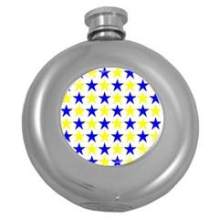 Star Hip Flask (round)