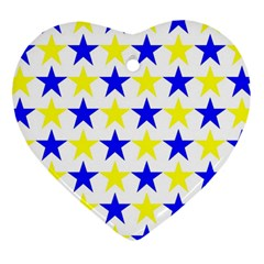 Star Heart Ornament (Two Sides)