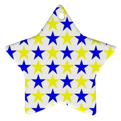 Star Star Ornament (two Sides)
