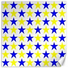 Star Canvas 16  x 16  (Unframed)