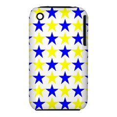 Star Apple iPhone 3G/3GS Hardshell Case (PC+Silicone)