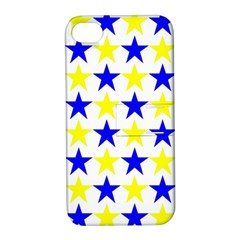 Star Apple Iphone 4/4s Hardshell Case With Stand